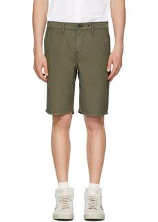Rag & Bone Green Classic Chino Shorts