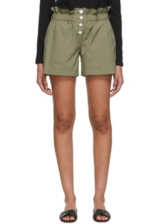 Rag & Bone Green Glenn Shorts