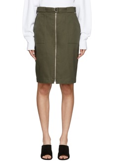 Rag & Bone Green Lora Skirt