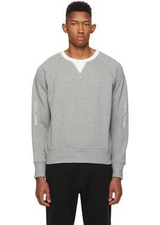 rag & bone Grey & White Anson Sweatshirt