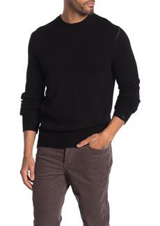 rag & bone Haldon Contrast Stitch Cashmere Sweater