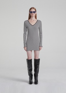 Rag & Bone HALIFAX VNECK MINI DRESS