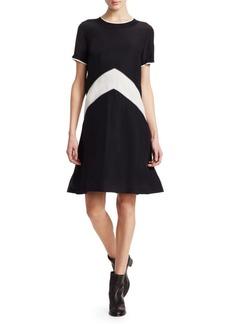Rag & Bone Hannah Silk T-Shirt Dress