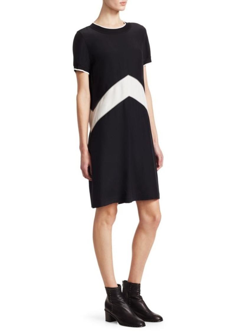 Hannah Silk T-Shirt Dress