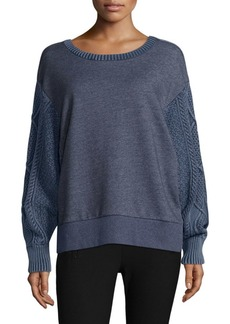 Rag & Bone Harper Contrast Sweatshirt