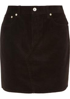 rag & bone Hayden Stretch-cotton Corduroy Mini Skirt