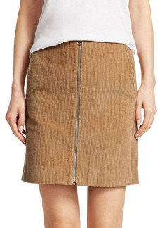 Rag & Bone Heidi Corduroy Mini Skirt