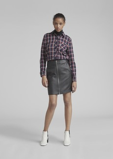 Rag & Bone HEIDI LEATHER SKIRT