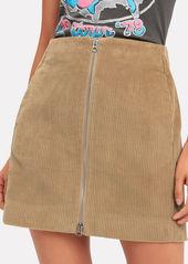 Rag & Bone Heidi Corduroy Mini Skirt