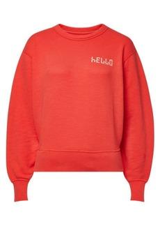 Rag & Bone Hello Cotton Sweatshirt