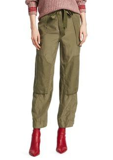 Rag & Bone Henri Silk Cropped Cargo Pants