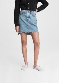 rag & bone High-Rise Mini Skirt