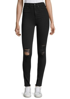 Rag & Bone High-Rise Skinny & Distressed Jeans