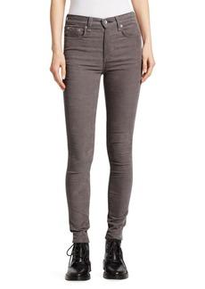 Rag & Bone High-Rise Skinny Corduroy Jeans
