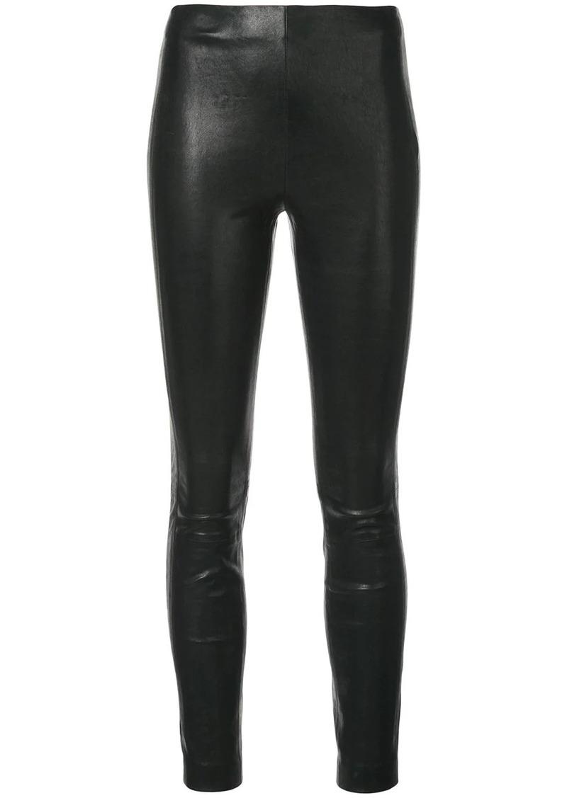 rag & bone high rise skinny fit trousers