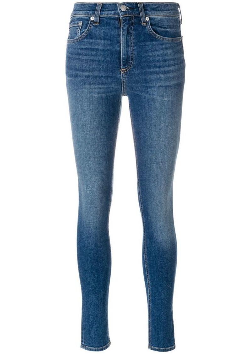 Rag & Bone high rise skinny jeans