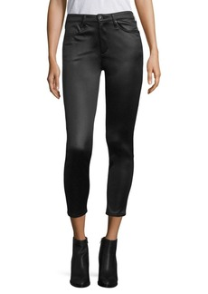 Rag & Bone High-Rise Skinny Satin Jeans