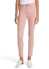 rag & bone High Waist Skinny Jeans