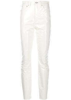 rag & bone high-waisted skinny trousers
