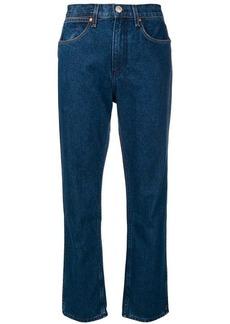 Rag & Bone high-waisted straight jeans