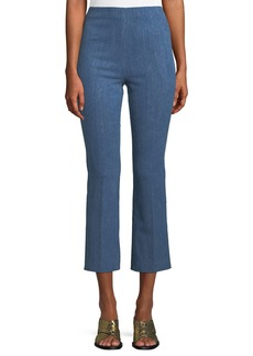 Rag & Bone Hina Cropped Straight-Leg Pants