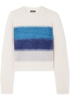 Rag & Bone Holland Cropped Striped Knitted Sweater