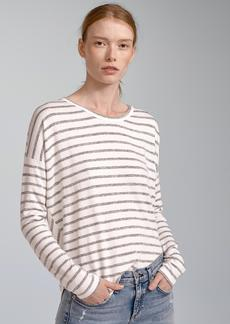 HUDSON STRIPED LONG SLEEVE