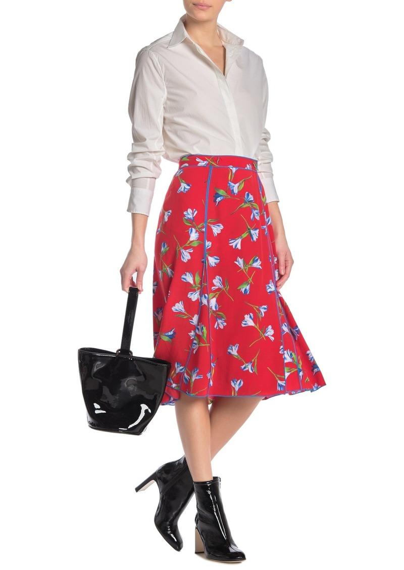 rag & bone Hugo Floral Wrap Skirt