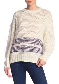 rag & bone Iceland Striped Wool Blend Sweater