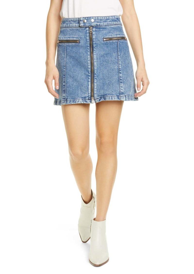 rag & bone Isabel Denim Miniskirt