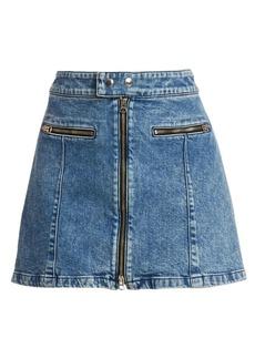 rag & bone Isabel Zip Mini Skirt