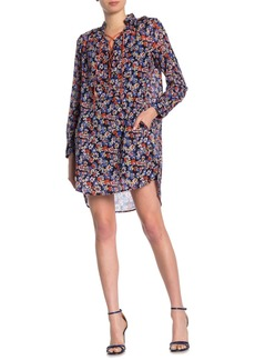 rag & bone Isla Floral Lace-Up Dress