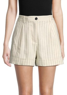 rag & bone Ivy Pinstripe Shorts