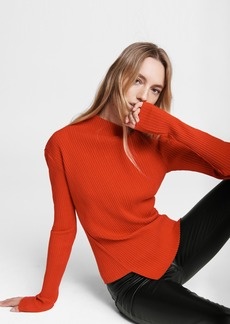 rag & bone Jade Cotton Turtleneck