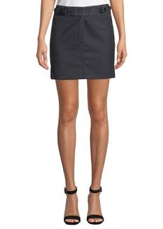 Rag & Bone James Check Wool Short Skirt
