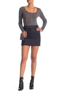 Rag & Bone James Wool Blend Skirt