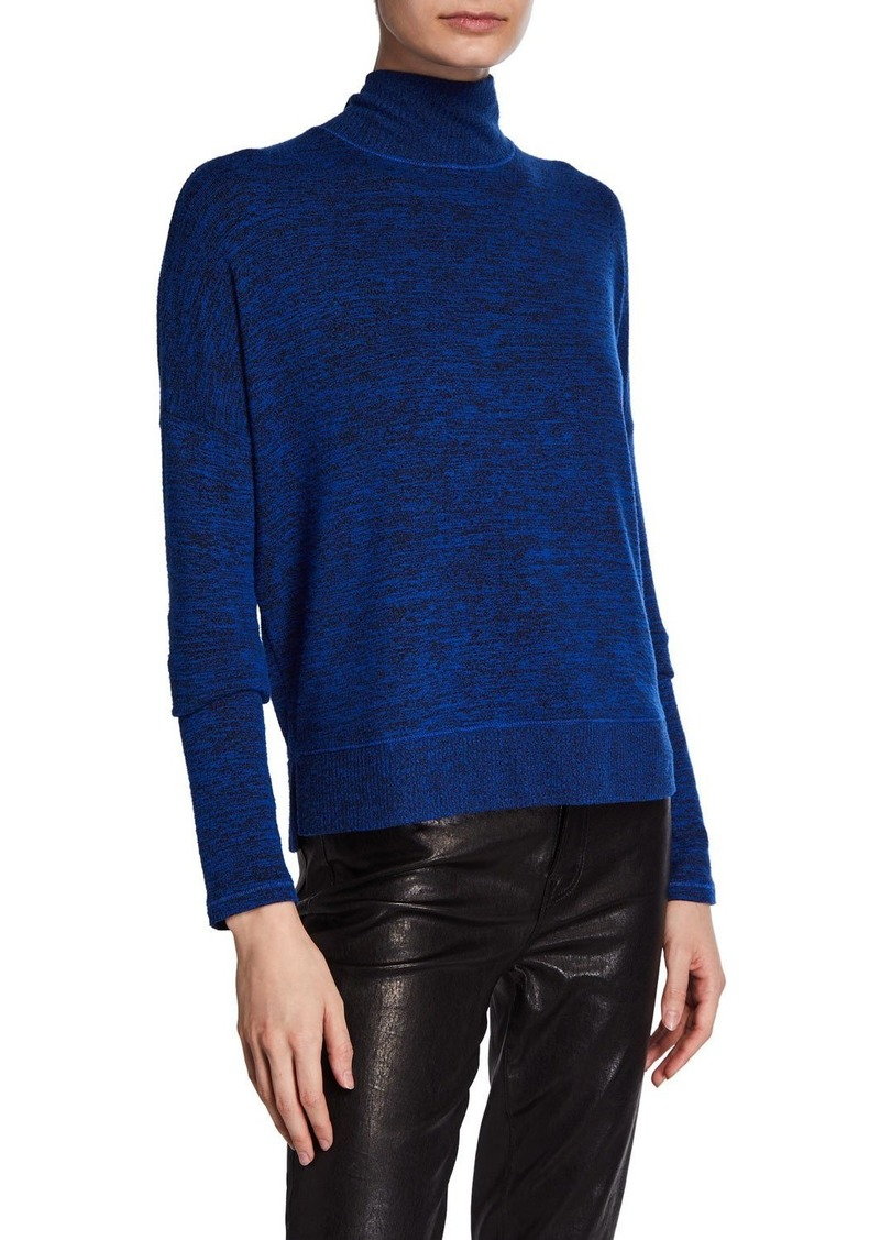 rag & bone Jane Marled Long-Sleeve Turtleneck Top