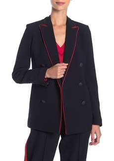 rag & bone Jarvis Contrast Trim Blazer Jacket