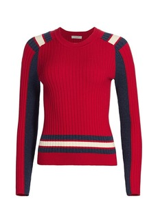 rag & bone Julee Striped Crewneck Top