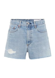 rag & bone Justine denim cut-off shorts