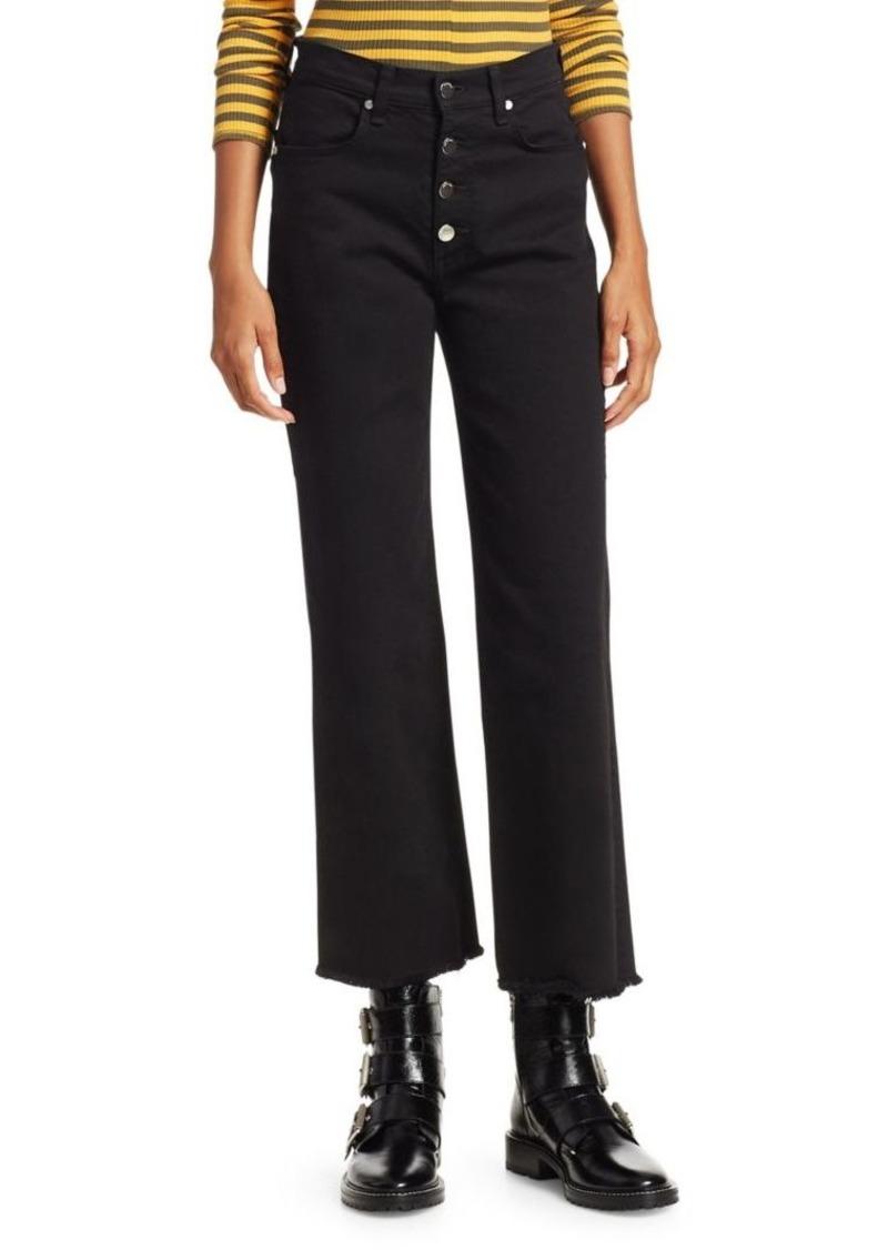 rag & bone Justine High-Rise Wide-Leg Jeans