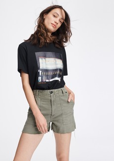 rag & bone KAYE SHORT