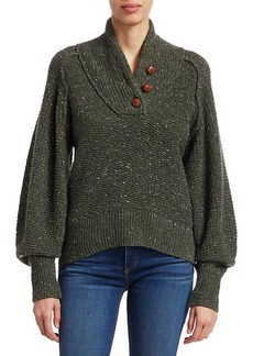 rag & bone Klark Donegal Tweed Sweater