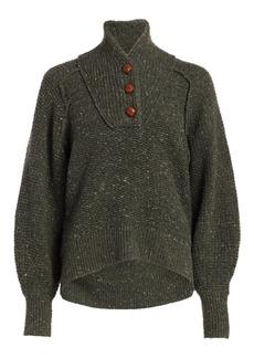 rag & bone Klark Donegal Tweed Sweater