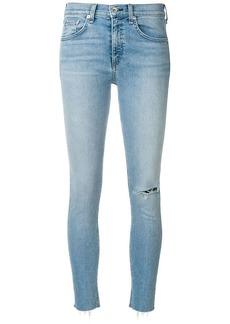 Rag & Bone Lena raw hem skinny jeans