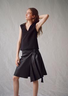 Rag & Bone LENNA leather SKIRT