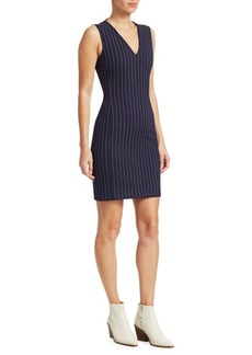 Rag & Bone Lexi Pinstripe Mini Dress