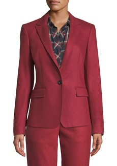 Rag & Bone Lexington Single-Button Wool Blazer