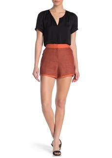 rag & bone Lia Houndstooth Printed Shorts