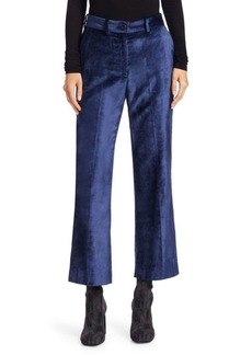 Rag & Bone Libby Velvet Cropped Flared Pants